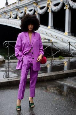 Street style : les plus beaux looks repérés à la Fashion Week de Paris 150*150
