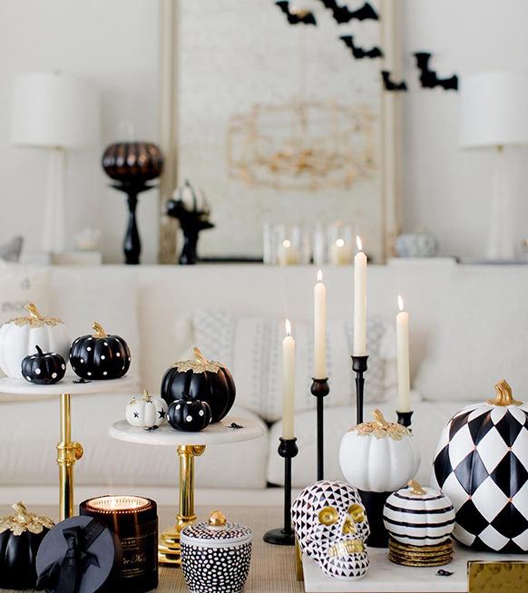 4 détails déco pour une table d'Halloween vraiment chic