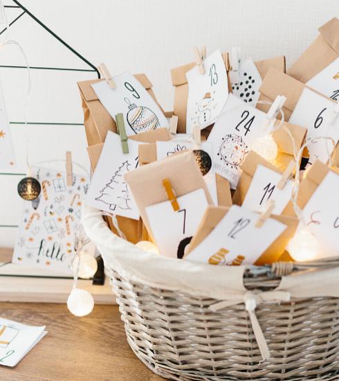 DIY : nos astuces pour réaliser votre calendrier de l'Avent personnalisé