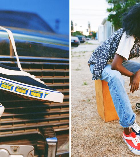 Vans x RHUDE : la collaboration rétro qui rend hommage au style californien