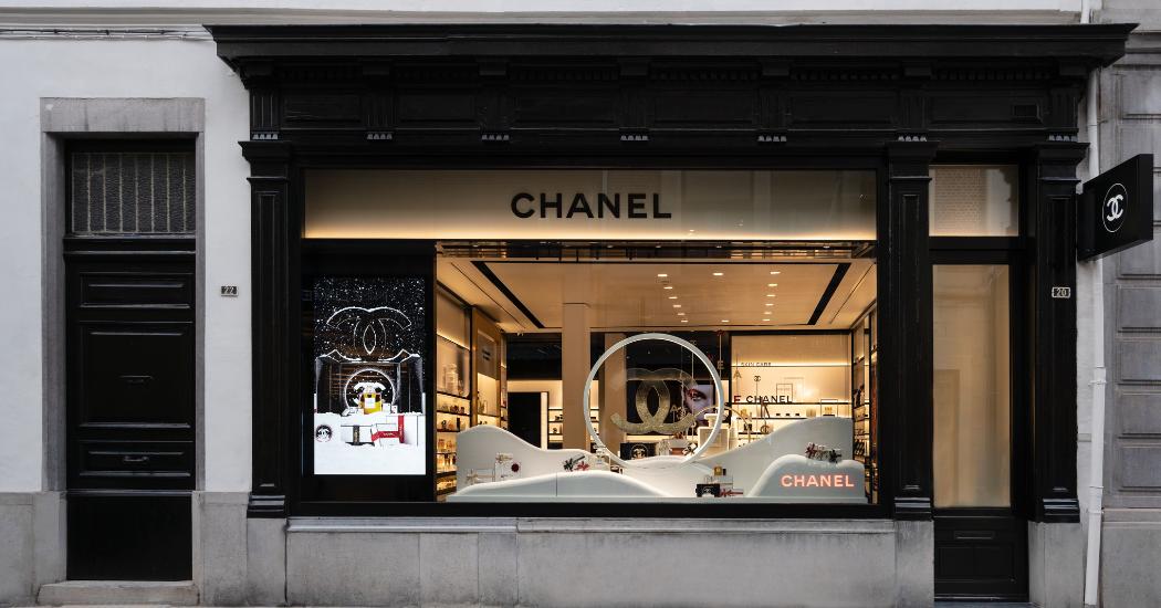 Anvers : une première boutique Chanel dédiée entièrement à la beauté
