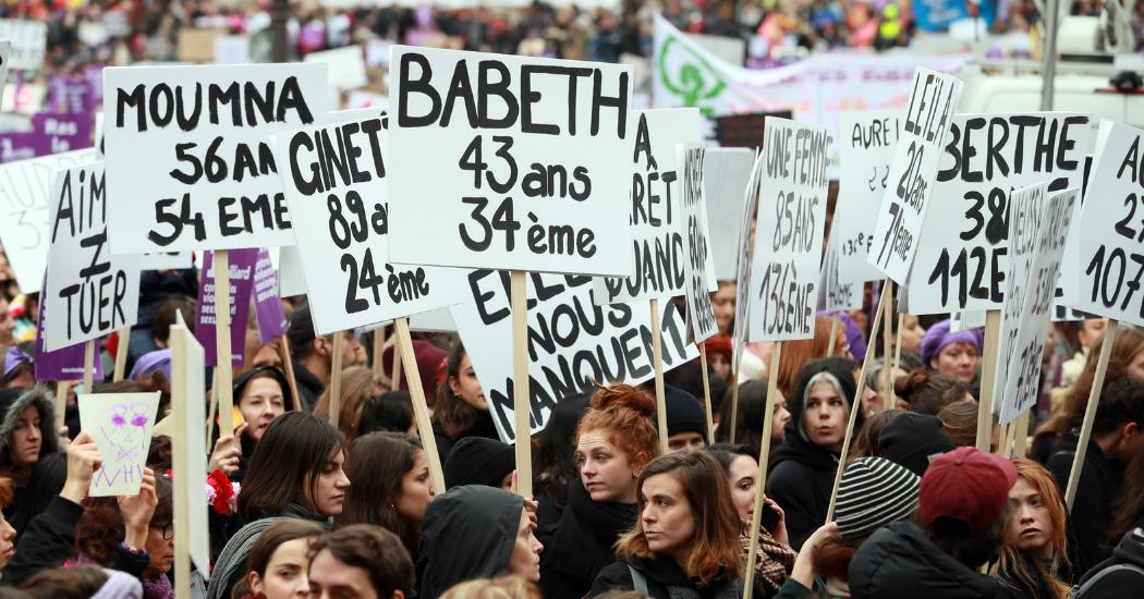 Journée internationale pour l'élimination de la violence à l'égard des femmes : une mobilisation historique