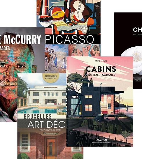 Notre sélection de livres pour les mordus d'art