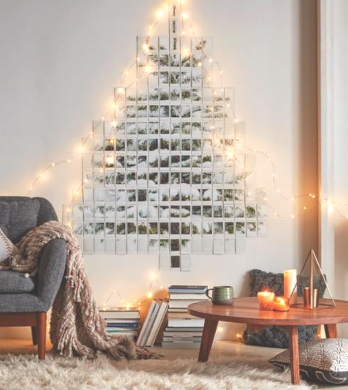 20 idées originales pour remplacer le traditionnel sapin de Noël