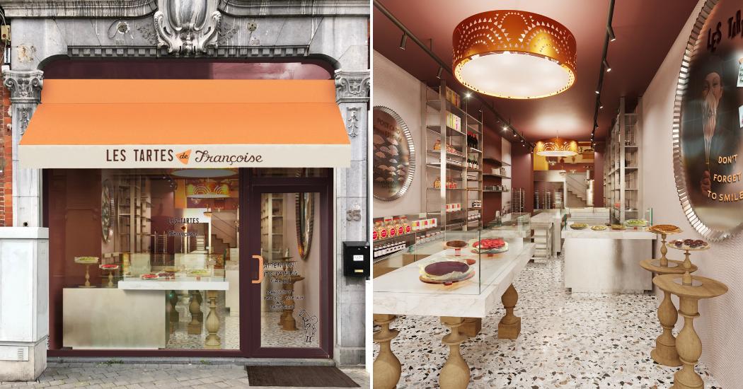 Food : Les Tartes de Françoise débarquent à Namur avec un tout nouveau concept
