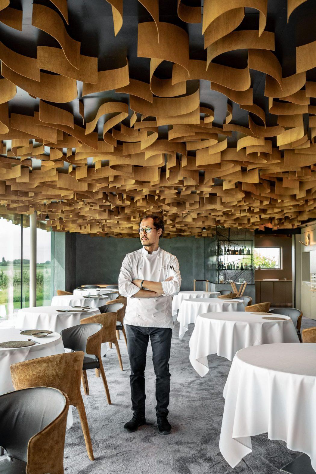 Sang Hoon Degiembre Air du temps restaurant