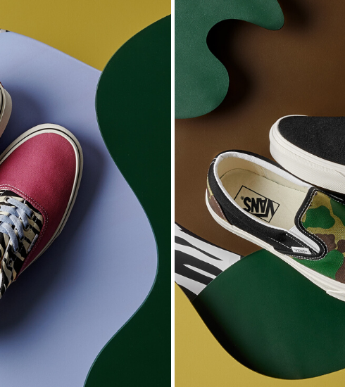 Crush of the day : la collection de baskets dépareillées Mismatch de Vans