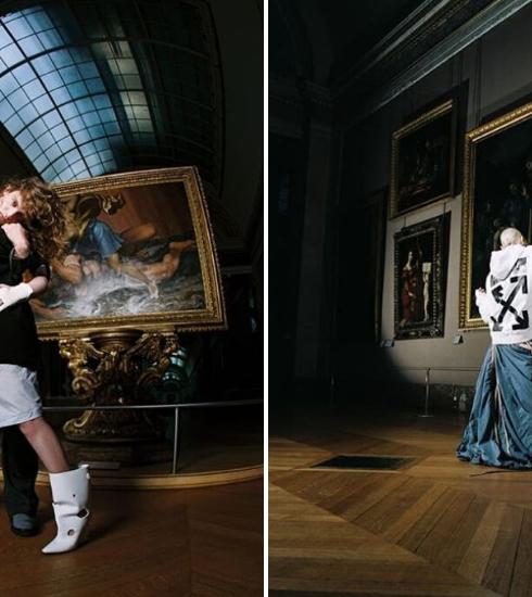 Off-White et le Louvre dans une collaboration artistique exclusive