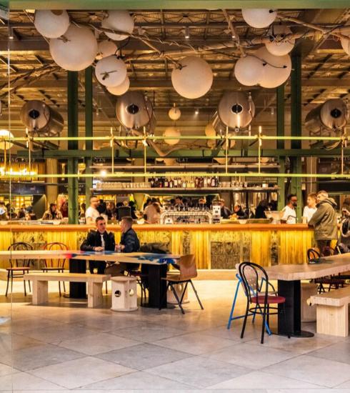 WOLF, le nouveau food market de Bruxelles
