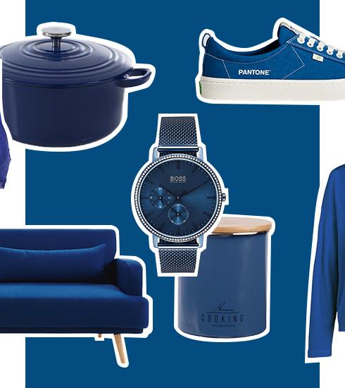 Shopping : notre sélection spéciale «Classic Blue», la couleur Pantone de l'année