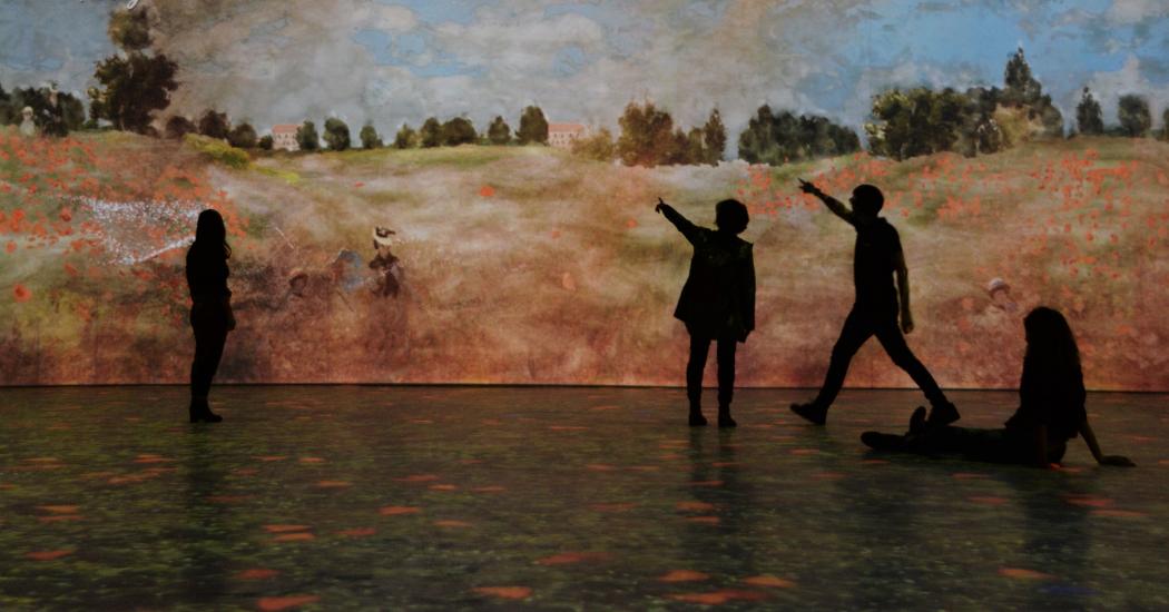 Bruxelles : l'exposition immersive Monet fait vibrer la peinture