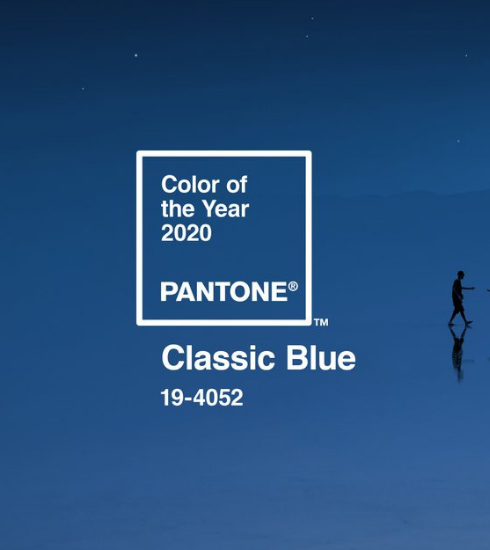 Classic Blue, couleur Pantone de l'année 2020