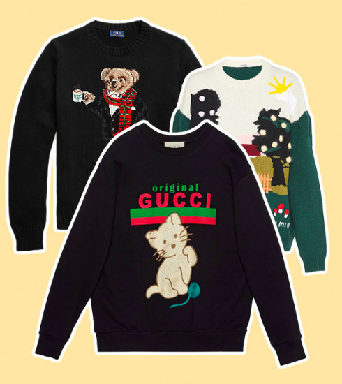 15 versions luxueuses et design du pull moche de Noël