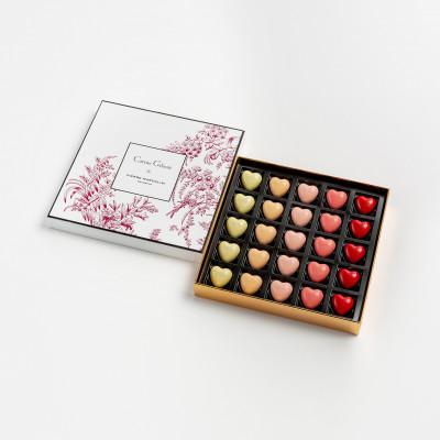 Crush of the day : la collection de chocolats Pierre Marcolini x Carine Gilson pour la Saint-Valentin 150*150