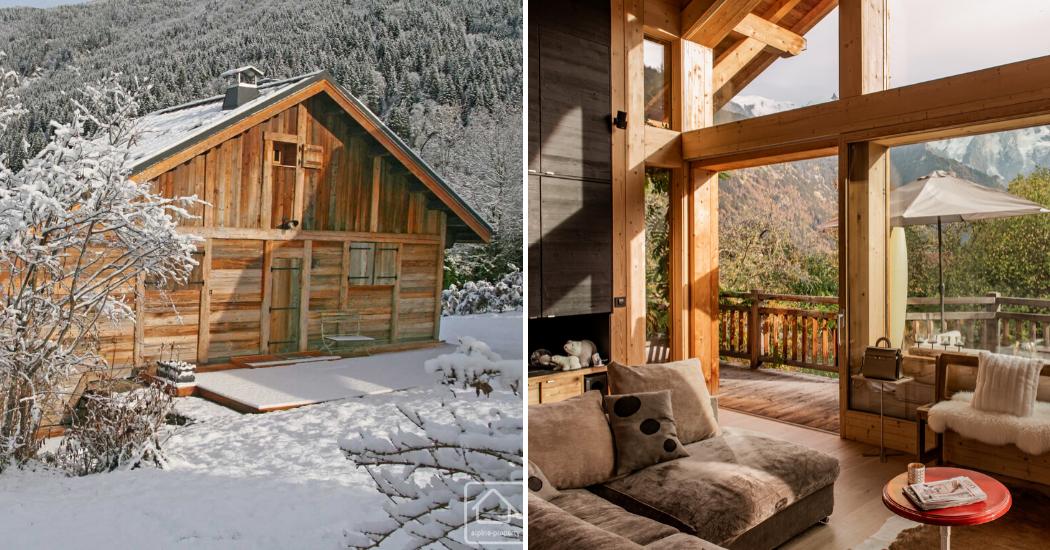 Sports d'hiver : 6 chalets de montagne qui nous font rêver de vacances