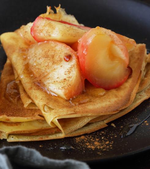 Chandeleur : crêpes pommes-caramel au beurre salé