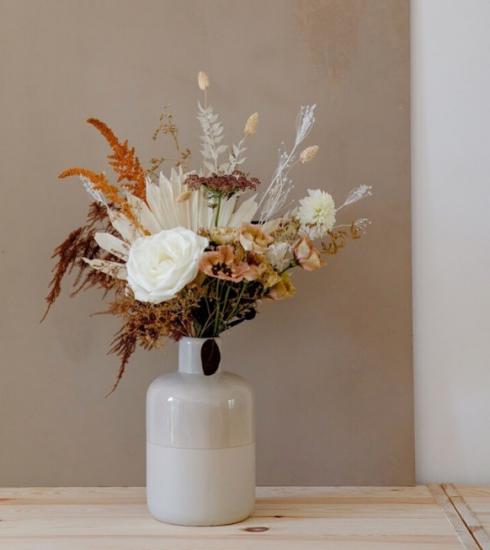 7 idées déco pour introduire les fleurs séchées dans son intérieur
