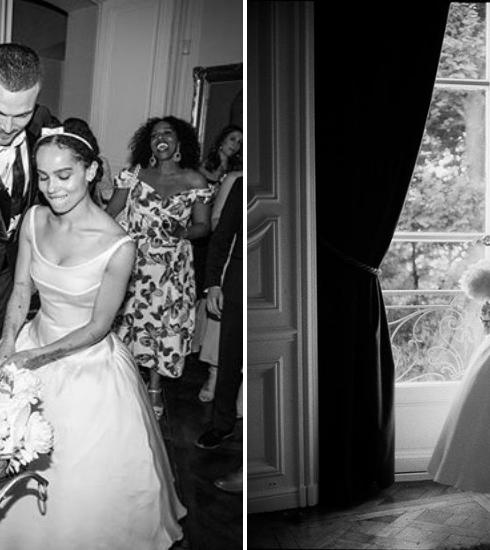 Zoë Kravitz partage enfin les photos de son mariage secret à Paris