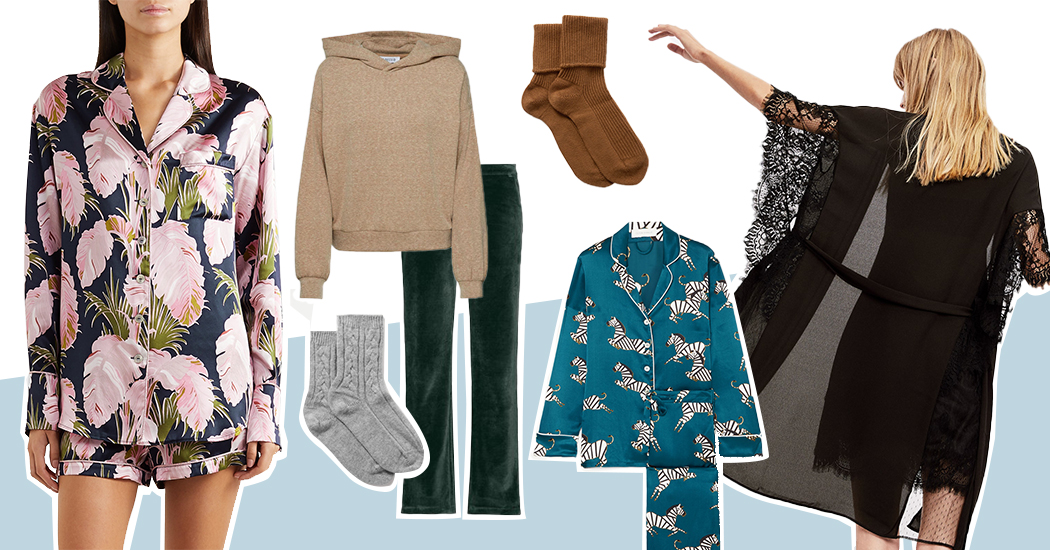 Shopping : 30 pyjamas et pièces homewear pour cocooner avec style