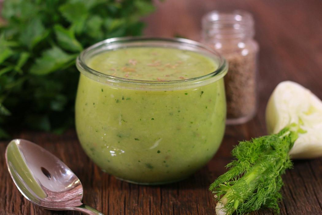 soupe verte détox
