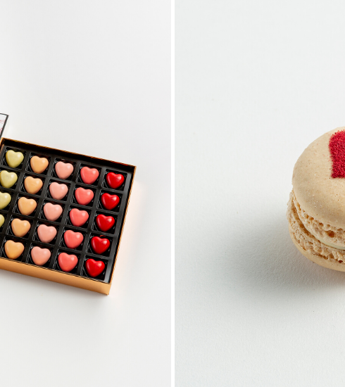 Crush of the day : la collection de chocolats Pierre Marcolini x Carine Gilson pour la Saint-Valentin