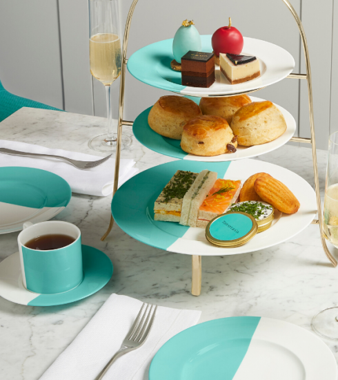 Blue Box Café : vous pouvez maintenant prendre votre « Breakfast at Tiffany's » à Londres !
