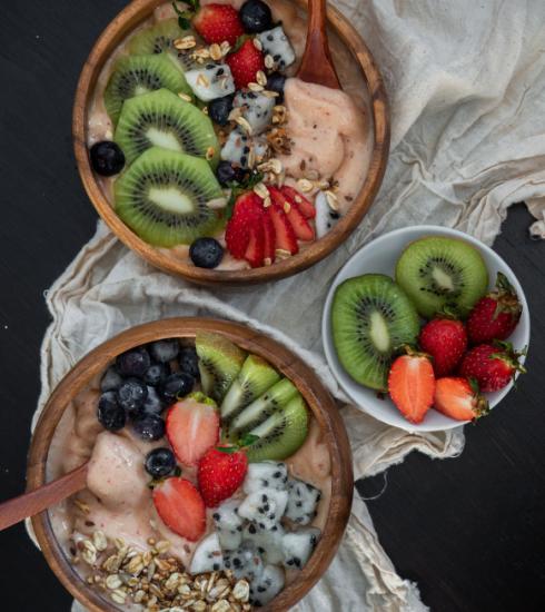 5 recettes de smoothie bowls vitaminés et colorés