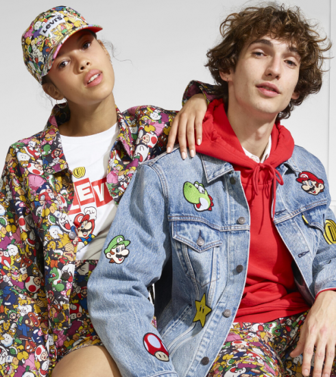 Crush of the day : Levi's x Super Mario nous font retomber en enfance