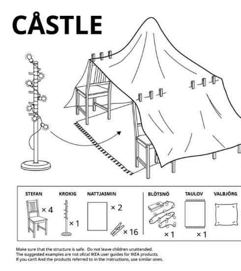 IKEA propose 6 plans de cabanes à construire à la maison !