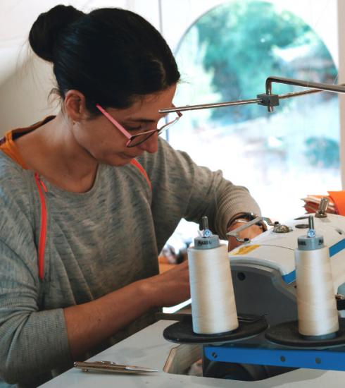 L'interview confinement #9 : Stéphanie, créatrice textile zéro déchet confinée à Thuin