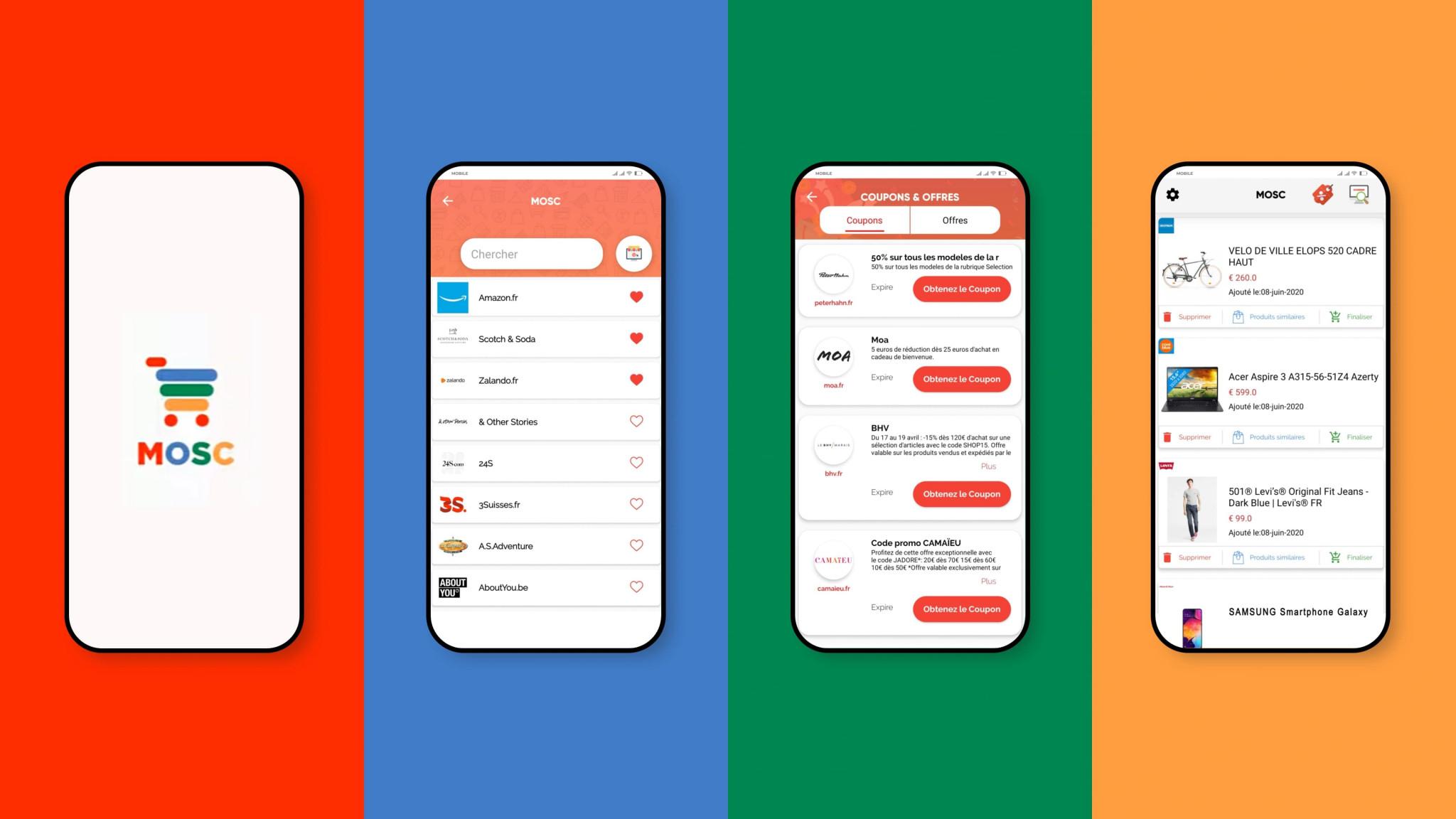 Consommation : MOSC, l'app qui traque les meilleurs prix en ligne à votre place - 1