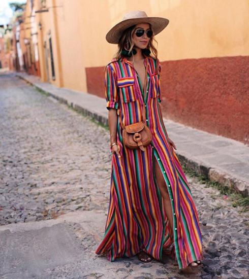 Tendance : 5 façons de porter la robe longue cet été