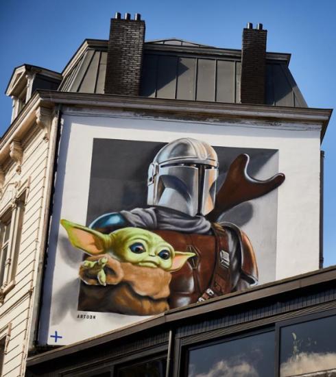 Disney+ célèbre son arrivée en Belgique avec un parcours de street art