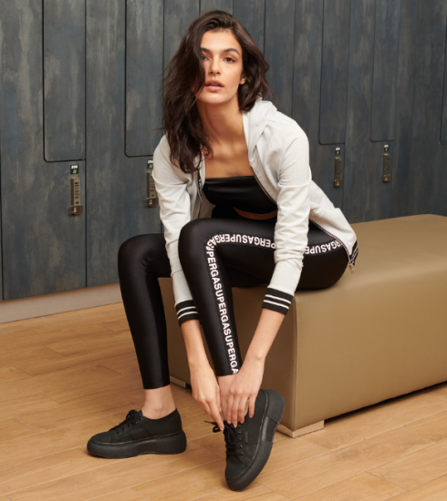Crush of the day : la collab' glamour et sportive de Superga x Calzedonia