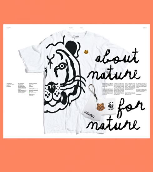 Crush of the day : la collaboration eco-friendly de Kenzo et WWF