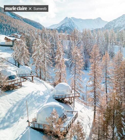 5 adresses et chalets surprenants pour un séjour au ski safe avec votre bulle