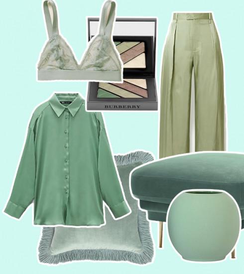 Vert sauge : comment adopter la couleur phare de cette saison ?