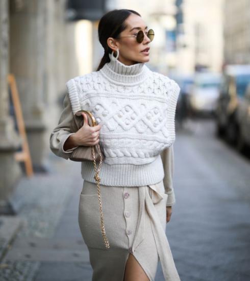 Shopping et inspiration : le pull sans manches, de ringard à ultra tendance
