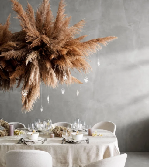 Table de Noël : 10 inspirations pour succomber au charme du décor suspendu