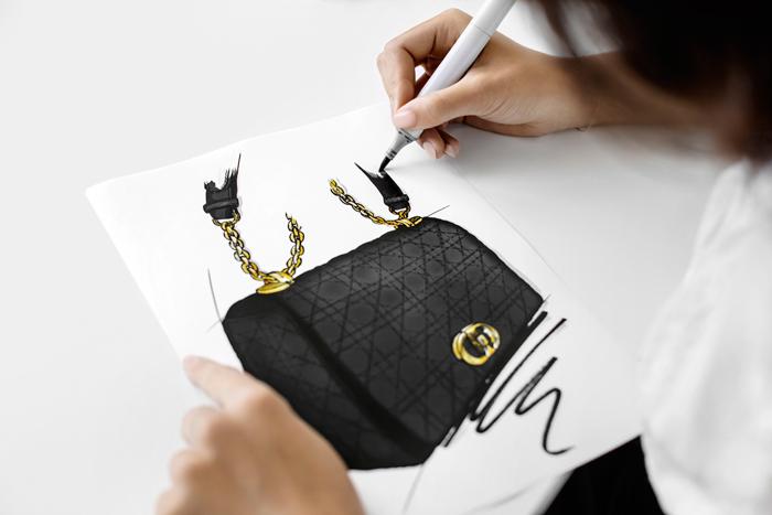 Editor's Pick : Dior dévoile son nouveau sac, le Dior Caro - 2
