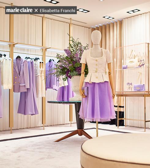 L'unique boutique Elisabetta Franchi a ouvert ses portes à Bruxelles