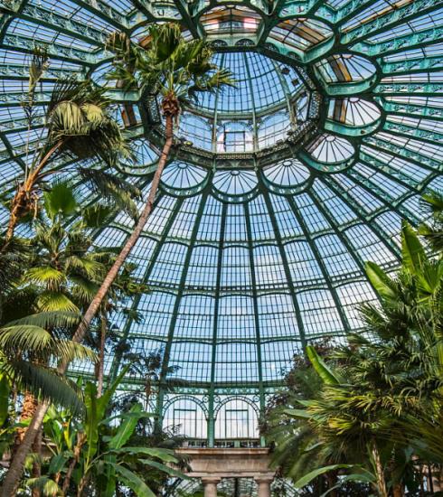 Vous pouvez réserver vos billets pour une promenade aux Serres royales de Laeken dès maintenant !
