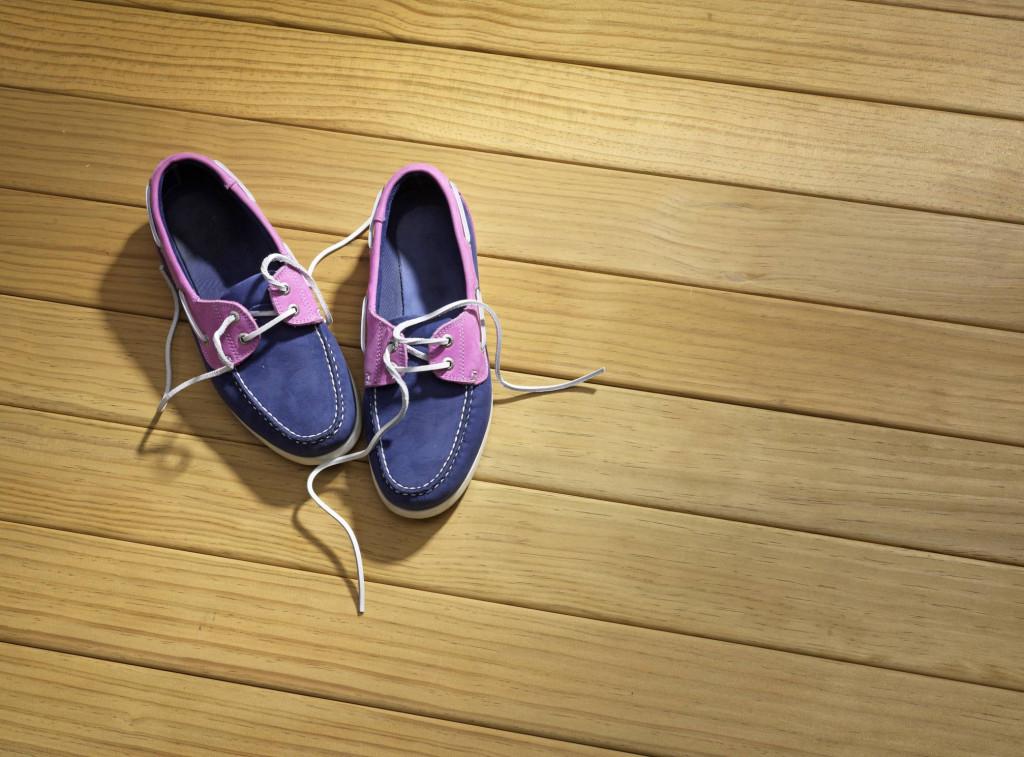 Chaussures été femme bateau