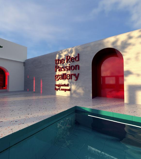 The Red Passion Gallery: la nouvelle galerie virtuelle et immersive de Campari