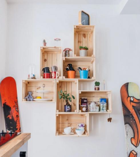 Déco : 4 DIY récup en bois pour upgrader votre intérieur