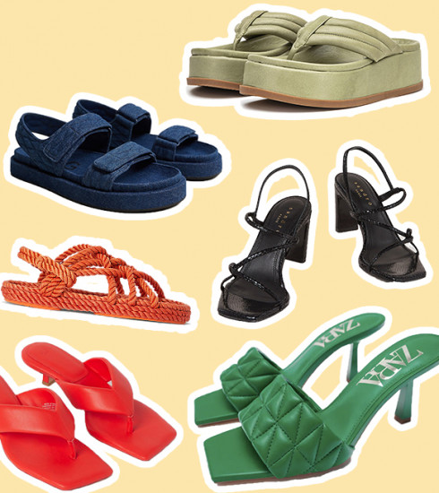Shopping & inspiration : 5 sandales tendances pour l'été + nos modèles préférés