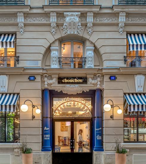 Chouchou : l'hôtel parisien branché où se mêler aux locaux