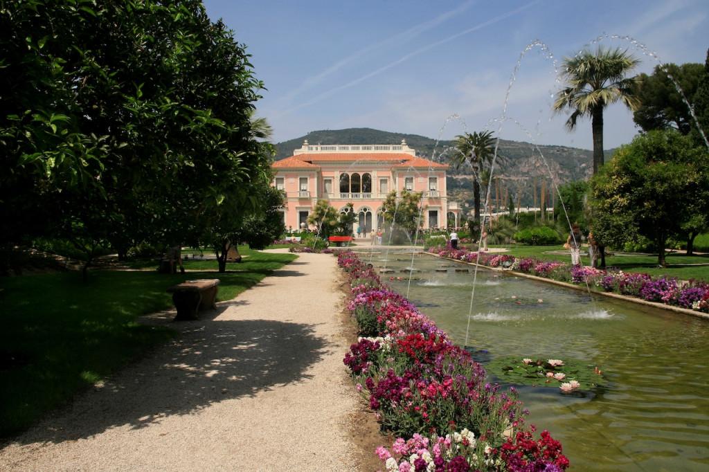 jardin villa