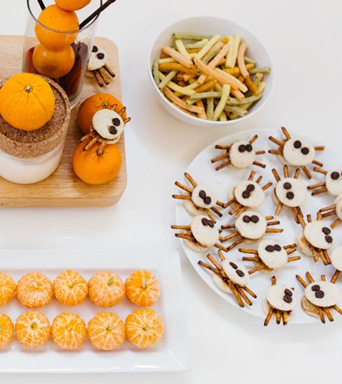 Halloween : 5 snacks sains et rapides spécial kids pour changer des bonbons