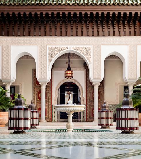 Le meilleur hôtel du monde se trouve à Marrakech